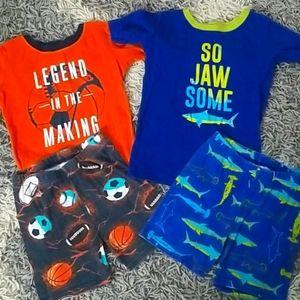 Children's Place summer pajamas bundle